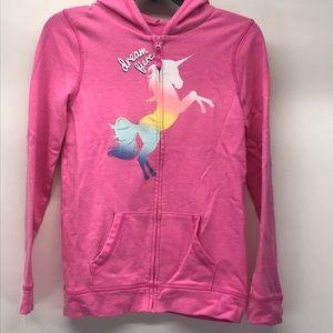 SO brand girls Unicorn Zip Up Hoodie 16